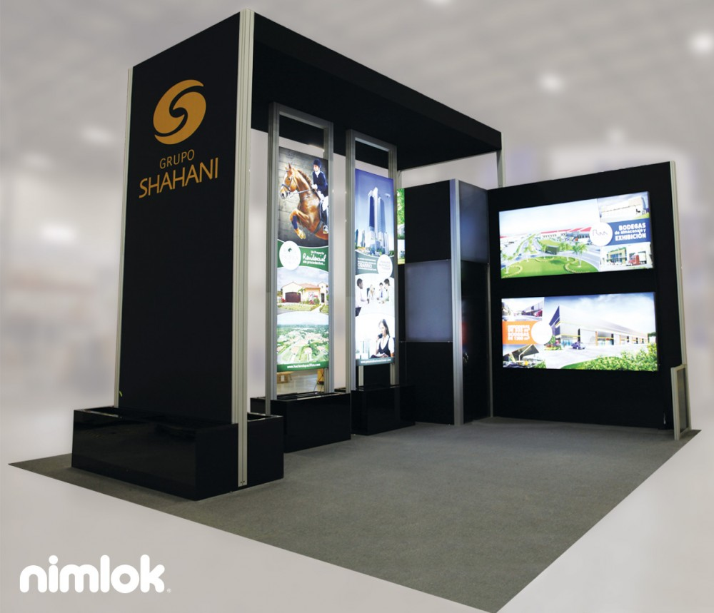 Modular Exhibition Stands Job : Trade show portables vs modular banners s imaging